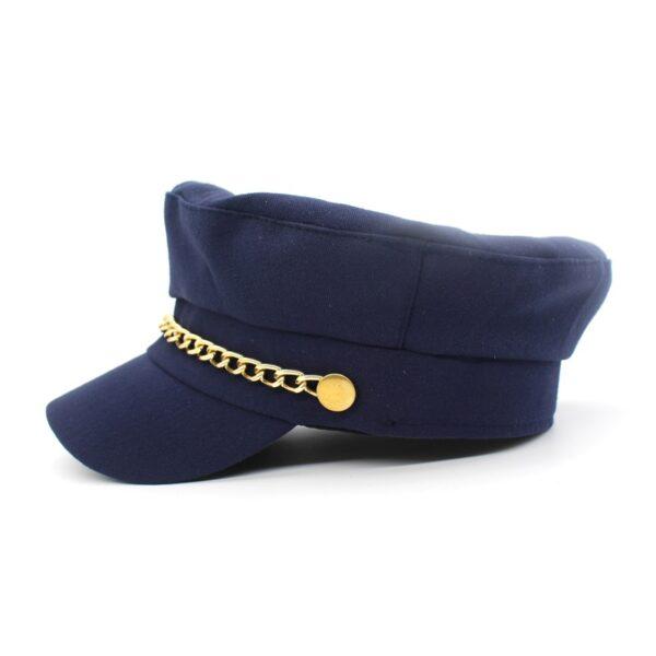 Women's Elegant Sea Captain's Hat - Getaway Gear