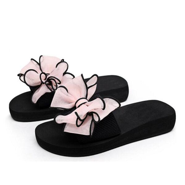 c1423e2f6 Pretty Women's Butterfly Knot Flip Flops - Getaway Gear
