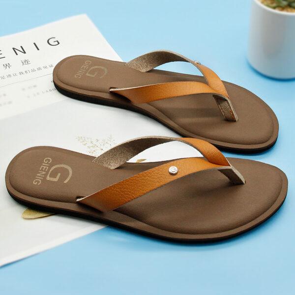 2de8ebfdf Pretty Women's Summer Low Heel Flip Flops - Getaway Gear